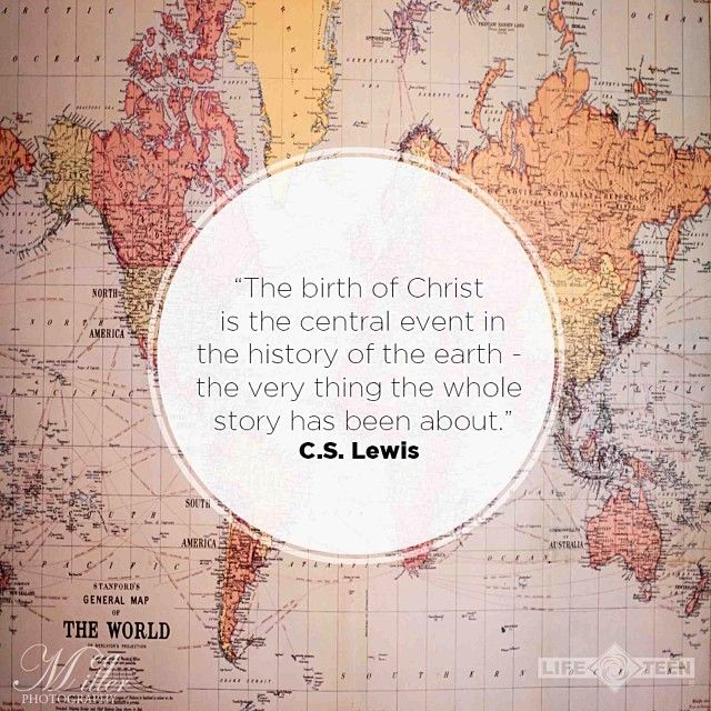 what the whole story is about [C.S. Lewis]