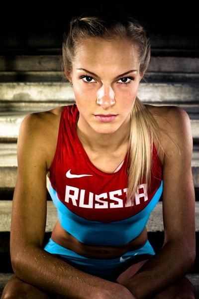 klishina track   Darya Klishina Is Russia's Loveliest Long Jumper