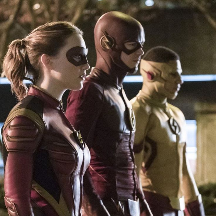 The Flash, Kid Flash and Jesse Quick #theflash #BarryAllen #Wallywest #jessequick