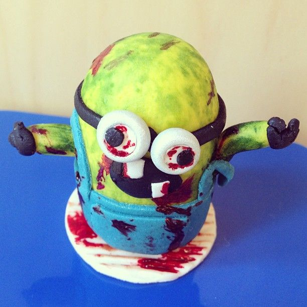Zombie Minion Cake | The Ultimate Collection Of Creepy, Gross And Ghoulish Halloween Recipes