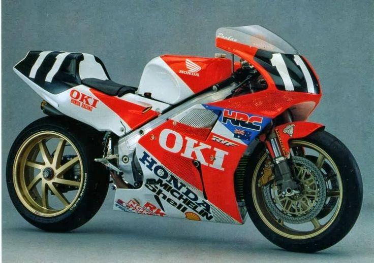 Honda RVF 750 GardnerDoohan 8 Hours Suzuka 1991 Moto da