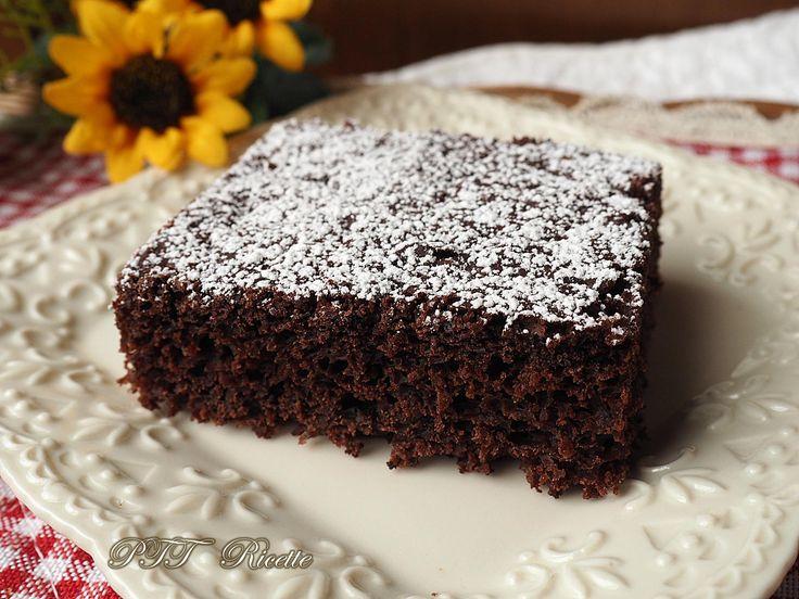 Torta dietetica al cacao senza burro | Ricetta
