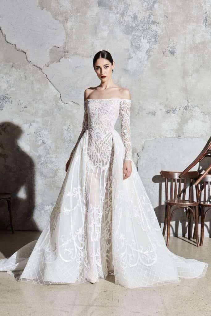 10 Wedding Dress Trends From Spring 2020 Collections Zuhair