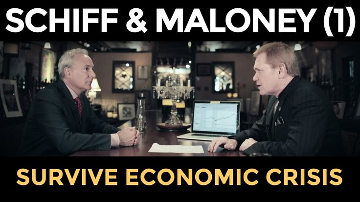 Gold Price TO SOAR, STOCKS WILL CRASH - Peter Schiff & Mike Maloney (Par...