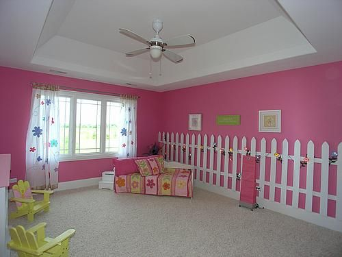 Ideas for Decorating a Little Girl's Bedroom with a Garden Theme ...