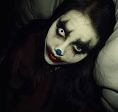 Image result for female evil clown pics