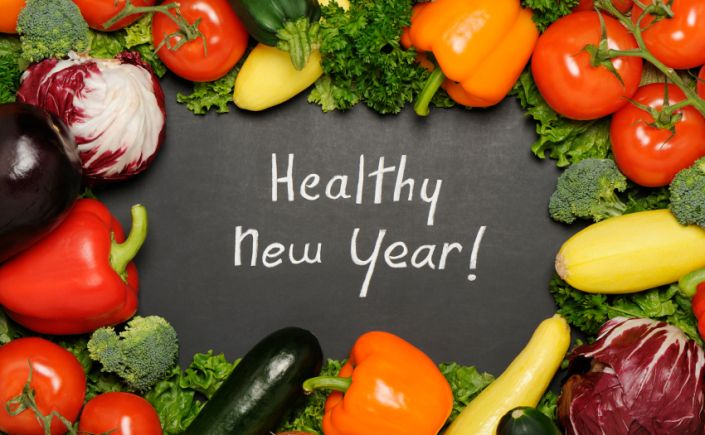 Happy New Year from WIC!  WIC promotes healthy choices for healthy families all year long.