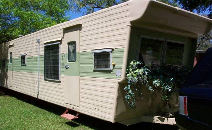 1957 Casa Manana 2 Bedroom Travel Trailer   Closer Exterior