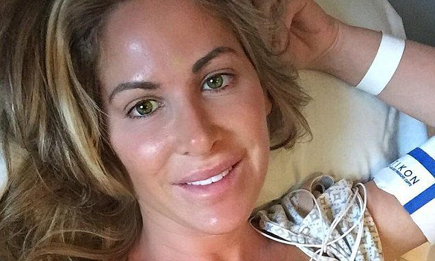 Kim Zolciak posts selfie as she reveals heart surgery was a success