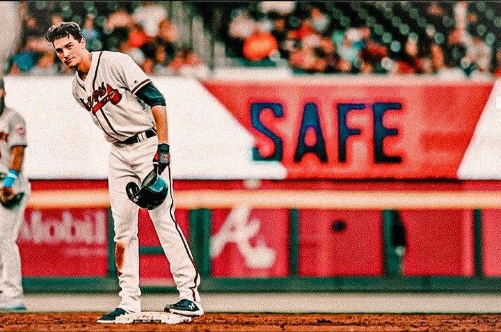 Pin By Jessi Stewart On Max Dans In 2020 Baseball Guys Atlanta Braves Braves