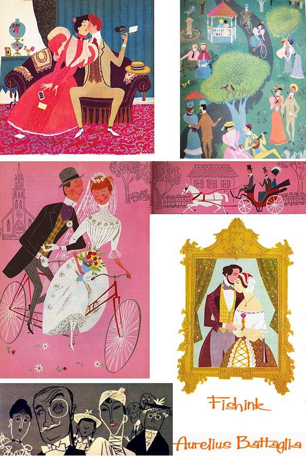 Aurelius Battaglia Disney Illustrator
