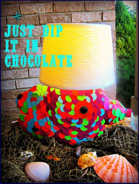 Recycled DIY Tide Pods Container Lamp, great kids room decor with something you have in your laundry room! Great craft project for kids with a little help from mom