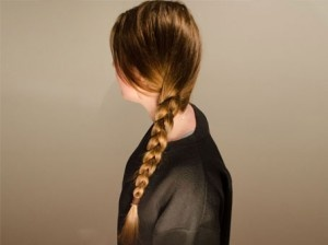 Learn how to create a basic plait hairstyle