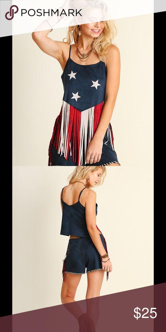 American Fringe Blouse Various sizes Tops Blouses