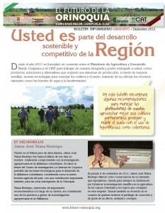 Nuevo boletín informativo del Convenio MADR-Corpoica-CIAT dirigido a productores y asistentes técnicos de la Altillanura colombiana