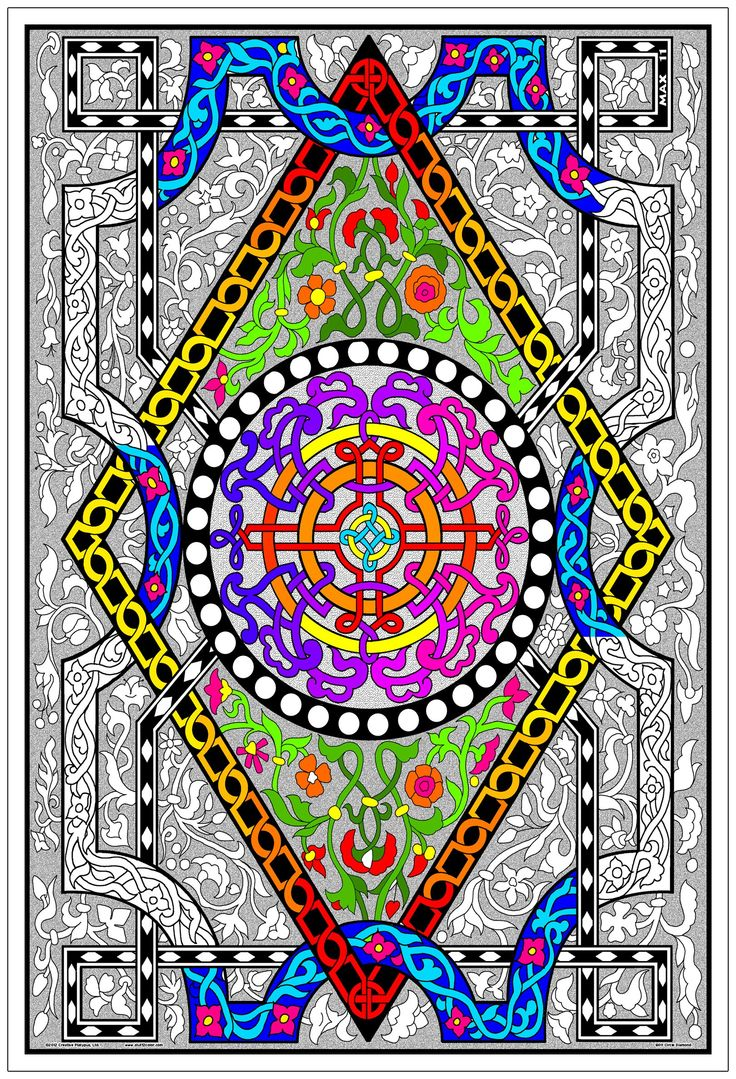 32 best Giant Coloring Posters images on Pinterest | Line art ...