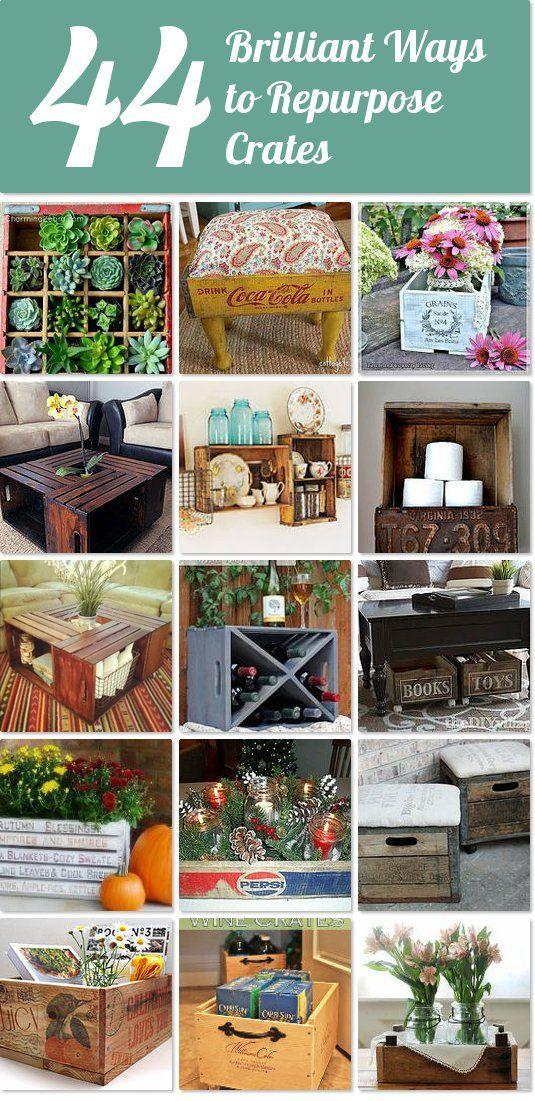 40 brilliant ways to repurpose crates | Hometalk