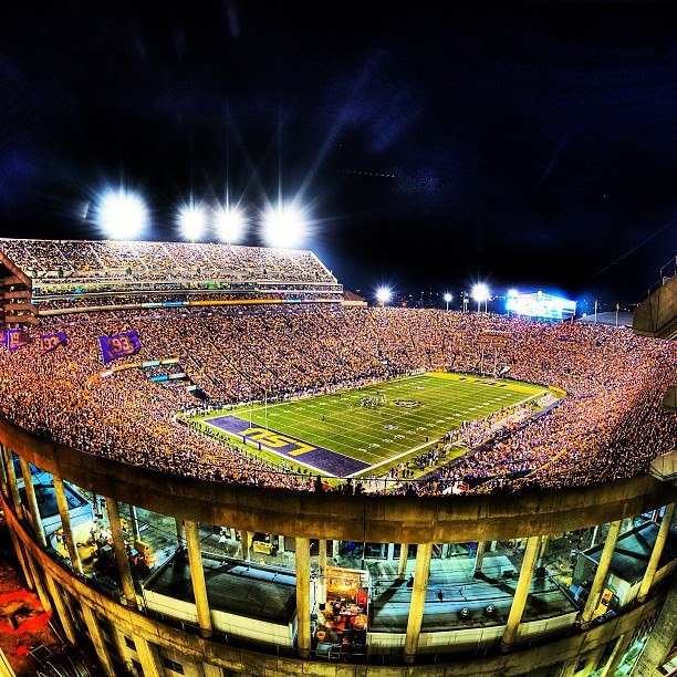 Over 92,000 of your closest friends LSU Tiger Stadium