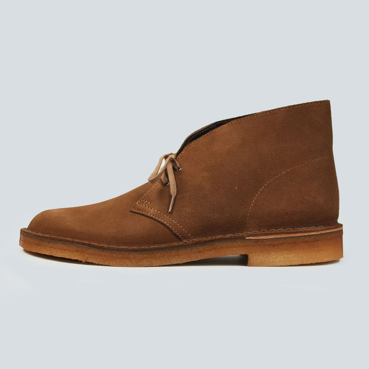 Clarks Originals Desert Boot - Cola Suede – Content Store London