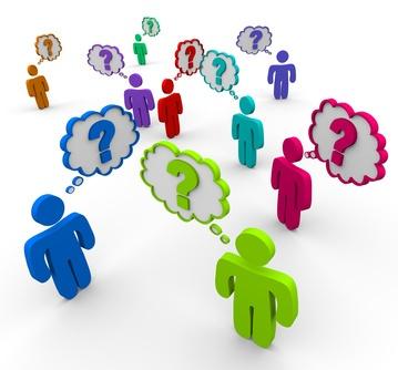 Guide d'Idées de Questions Ouvertes à poser  et demandes d'actions sur les Réseaux Sociaux.  Cliquez sur l'image pour en savoir plus.  #reseauxsociaux #questionsouvertes