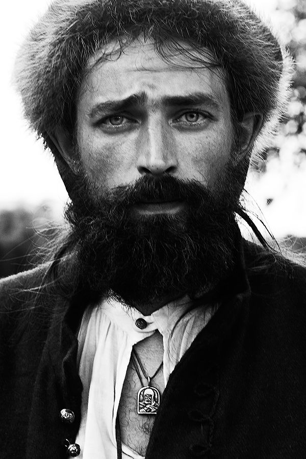 A very handsome man: Siberian cossack.. Eastern European men are so good looking/ strong minded!