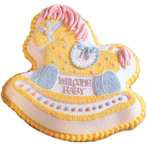 Pony Rides Cake - Charm the mother-to-be with a Rocking ...