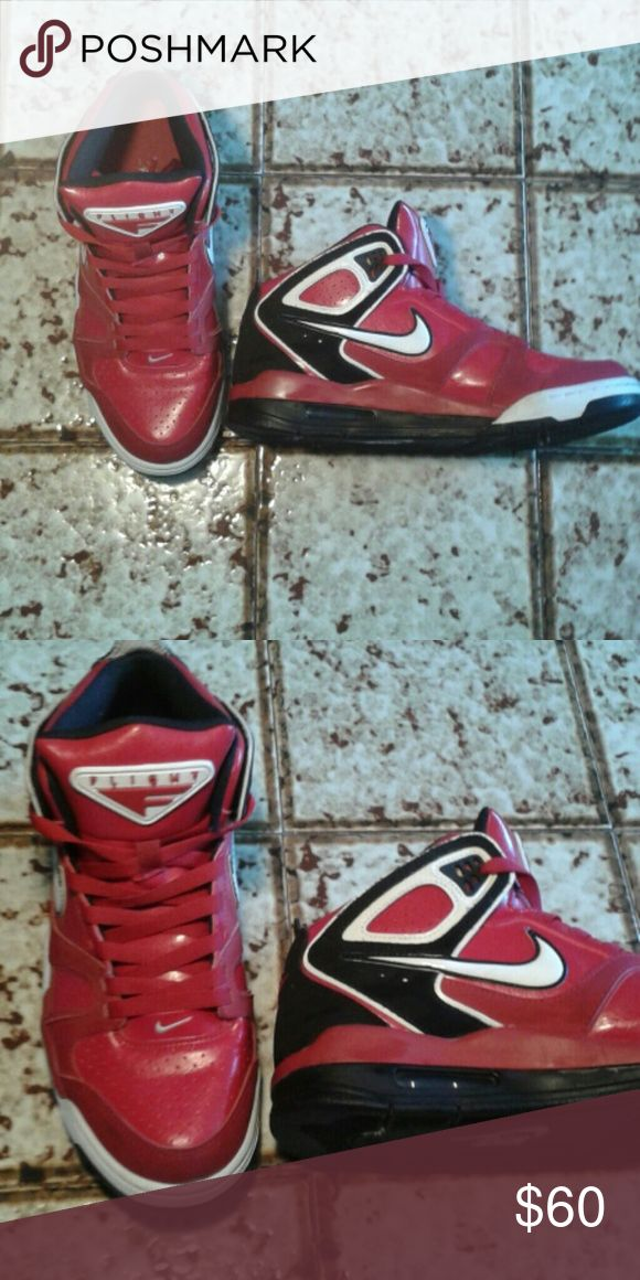 Nike Air Flights Light wear. Worn only a handful of times nike air flight Shoes Athletic Shoes