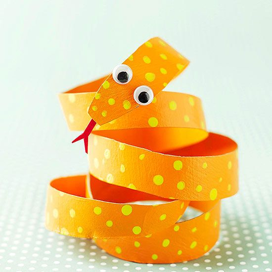 Toddler Crafts With Paper Towel Rolls: Don't Let, Towels And Snakes