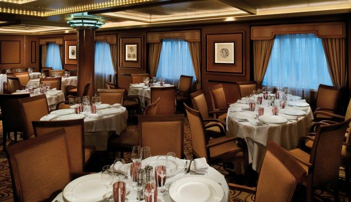 The Restaurant on the Silver Shadow