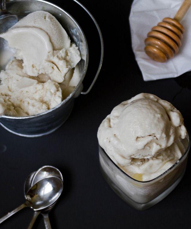 Ginger ice cream, Honey and Ice on Pinterest