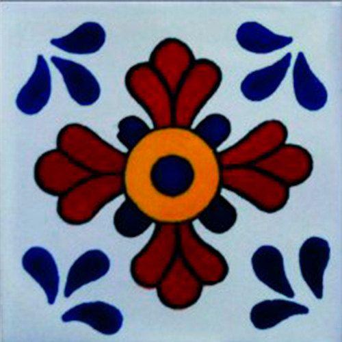 Mexican Tile  Handmade Talavera TILE Mosaic by MiPueblitoTiles, $12.50