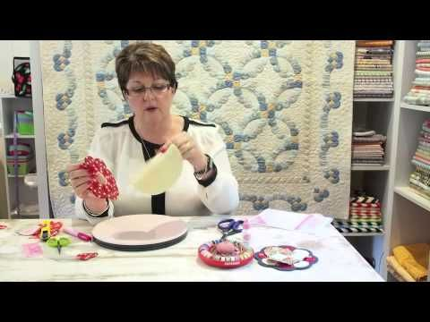 Ep 5 Using Curved Shapes: Sue Daley's 'Shape Up' English Paper Piecing