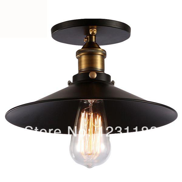 amerikaanse stijl antieke metalen loft industriële lotus blad hanger droplight licht