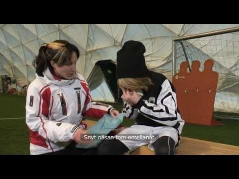 Pallo liikkeelle - Nenäverenvuodon tyrehdyttäminen - YouTube