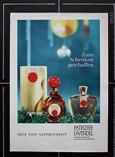 WB - Werbung Reklame PATRIZIER LAVENDEL 1 -  60/70er Jahre