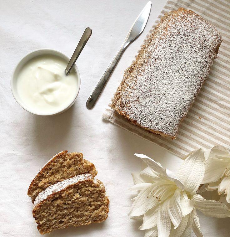 Plumcake allo Yogurt Senza Burro e Uova, un dolce integrale soffice e morbido povero di grassi adatto a intolleranti al lattosio, alle uova e vegani!