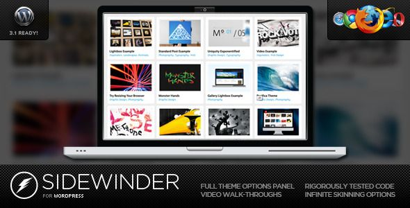 SideWinder for WordPress - Dynamic Grid Portfolio  #themeforest