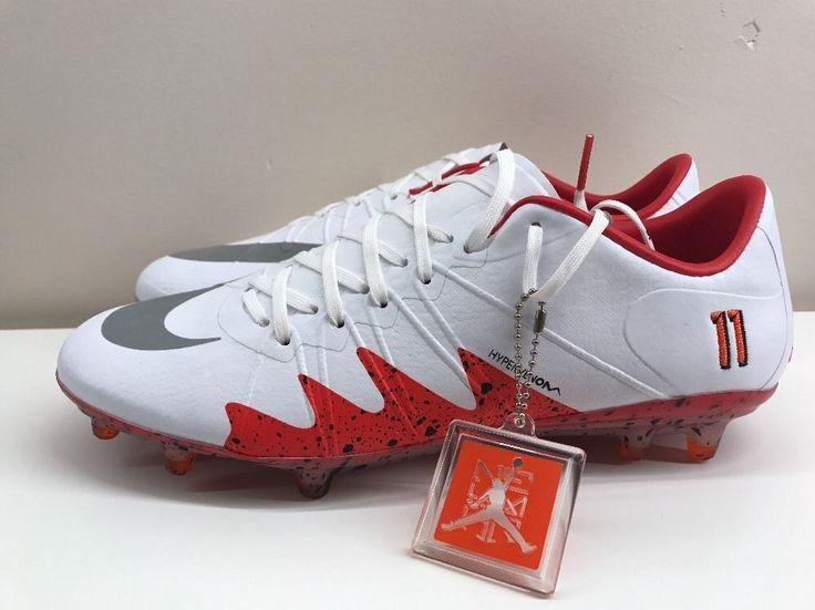 Nike Hypervenom Phinish NJR Neymar Jordan Boots. white red. 100 % genuine and authentic. | eBay!