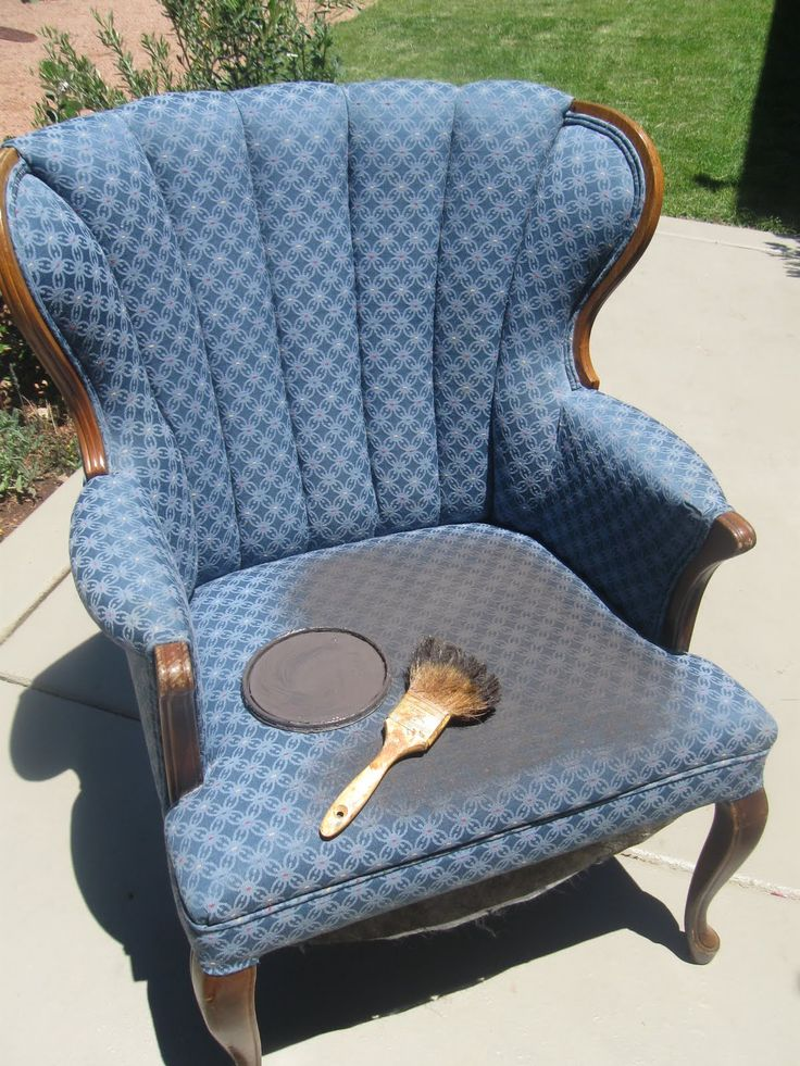 I Found This Chair At An Estate Sale For 20 And New I Could Do Something Amazing With It But