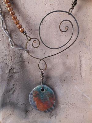 raku necklace