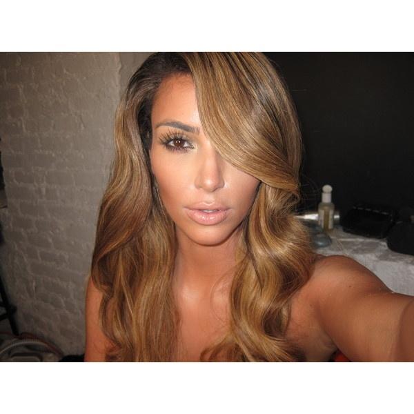 the gallery for gt kourtney kardashian light brown hair