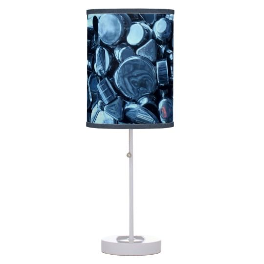 #zazzle #home #office #night #light #gift #giftidea #Pans  #Spoons #Table #Lamp
