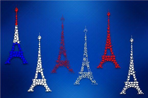 Eiffel tower by stockimagefolio on @creativemarket