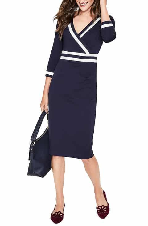 Boden Nellie Ponte Knit Dress (Regular & Plus Size) Reviews in 2019 ...