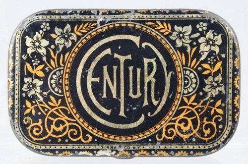 Vintage Tin via Typeverything