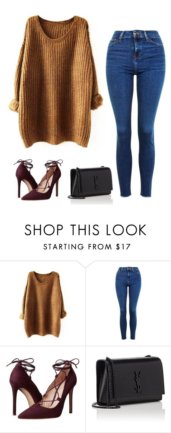 """""""Inspiration"""" by monika1555 on Polyvore featuring Topshop, Massimo Matteo and Yves Saint Laurent"""