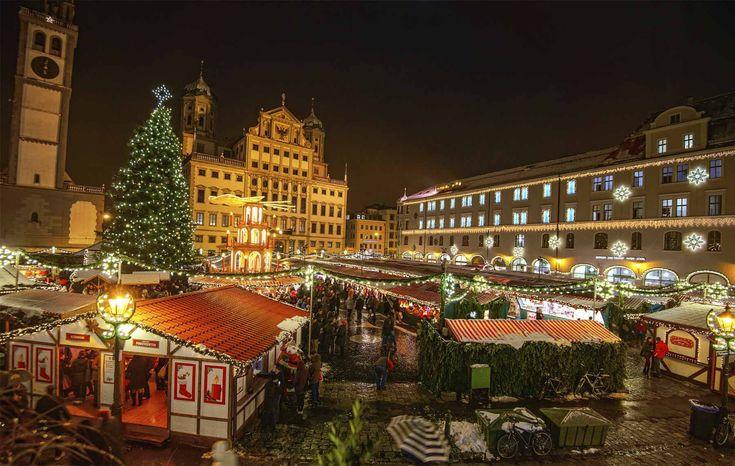 Mercadillo de Ausburgs, Alemania - Los mejores mercadillos navideños de Europa
