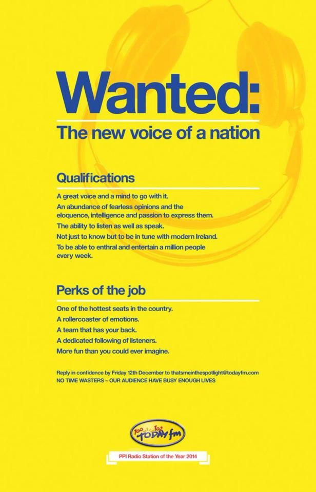 Good recruitment ad