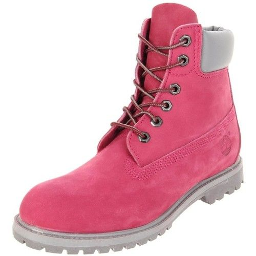 Pink Timberland Boots! Love that these are pink!