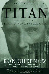 Titan: The Life of John D. Rockefeller, Sr. (By Ron Chernow)John D. Rockefeller, Sr.--historys first billionaire and the patriarch of Americas most famous dynasty--is an icon whose true nature has eluded three generations of historians. Now Ron Chernow, the...